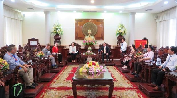 Can Tho et l'Australie renforcent leur cooperation dans l'education et les infrastructures hinh anh 1