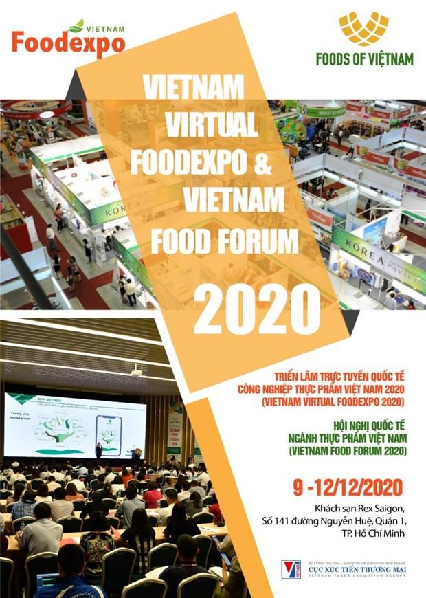 Ouverture de l'exposition virtuelle internationale sur l'industrie alimentaire Vietnam Foodexpo 2020 hinh anh 1