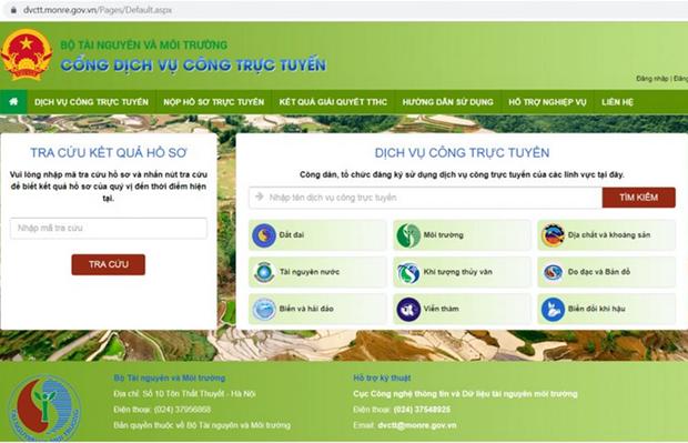 Completer la base de donnees sur les ressources naturelles et l'environnement hinh anh 1