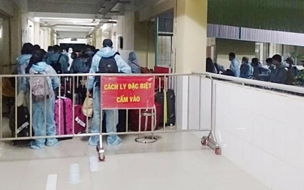 COVID-19: Tien Giang isole des personnes ayant ete en contact avec le 1.440e patient hinh anh 1