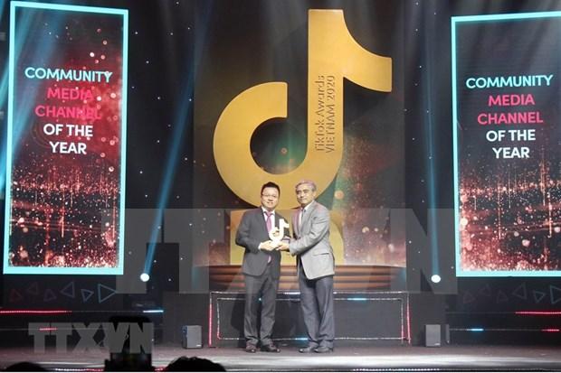 La chaine anti-fausses nouvelles Factcheckvn remporte le prix TikTok Awards Vietnam 2020 hinh anh 1