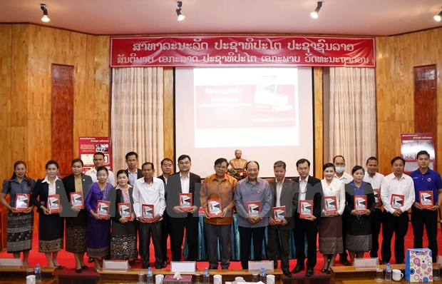 Publication d'un livre sur Le Van Hien, premier ambassadeur du Vietnam au Laos hinh anh 2