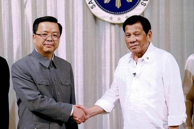 Les Philippines et la Chine renforcent la cooperation economique et commerciale hinh anh 1