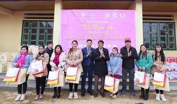Un programme de Vietjet donne aux minorites de Lao Cai un Tet plus chaleureux hinh anh 2