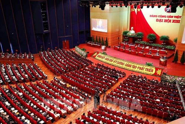 Les Vietnamiens confiants dans le succes du 13e Congres national du PCV hinh anh 1
