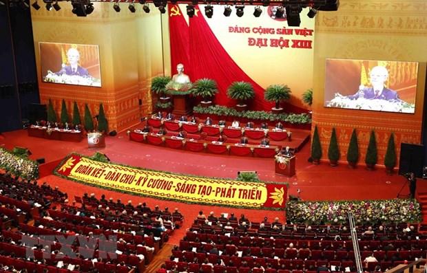 L'ouverture du 13e Congres national du PCV attire l'attention des medias internationaux hinh anh 1