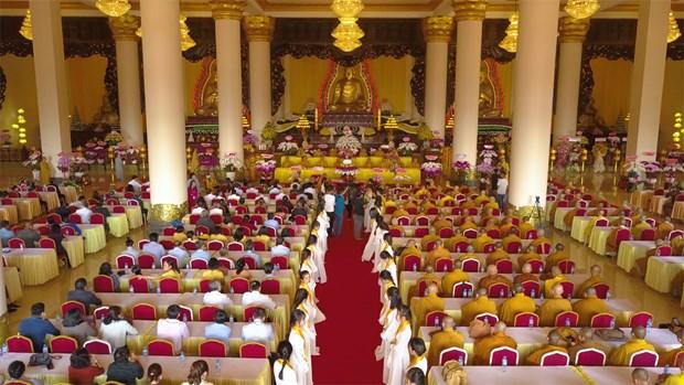 La plus haute statue de Bouddha d'Asie du Sud-Est inauguree a Binh Phuoc hinh anh 2