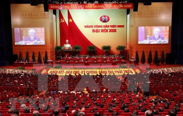 13e Congres du PCV: un journal tcheque met l'accent sur la vision de developpement du Vietnam hinh anh 1