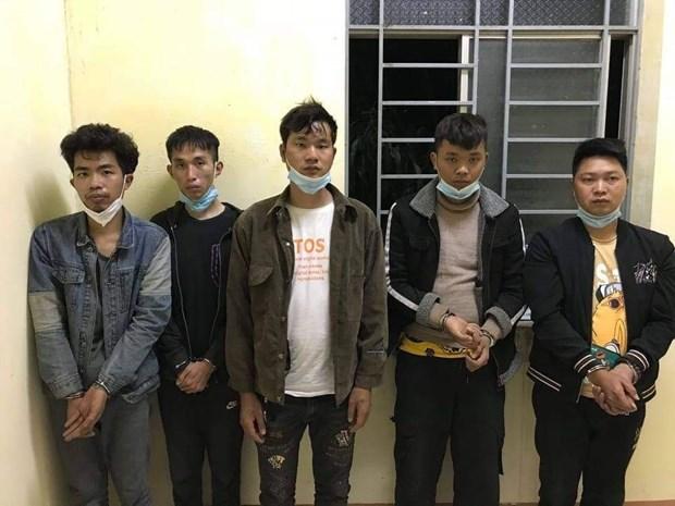 Long An : cinq etrangers captures pour etre entres illegalement au Vietnam hinh anh 1