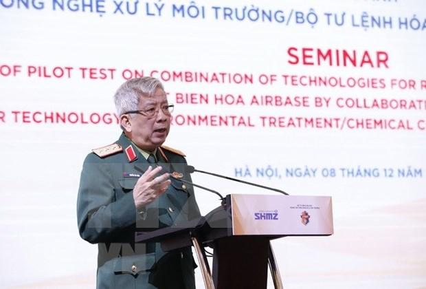 Resultats de la cooperation americano-vietnamienne dans le traitement de la dioxine hinh anh 1