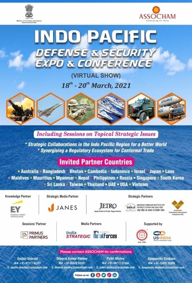 Salon-conference sur la Defense et la securite de la region indo-pacifique hinh anh 1