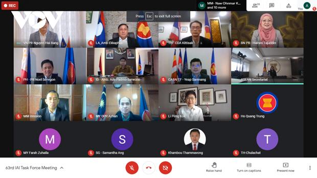 Le Vietnam preside une reunion du Groupe de travail sur l'Initiative pour l'integration de l'ASEAN hinh anh 1
