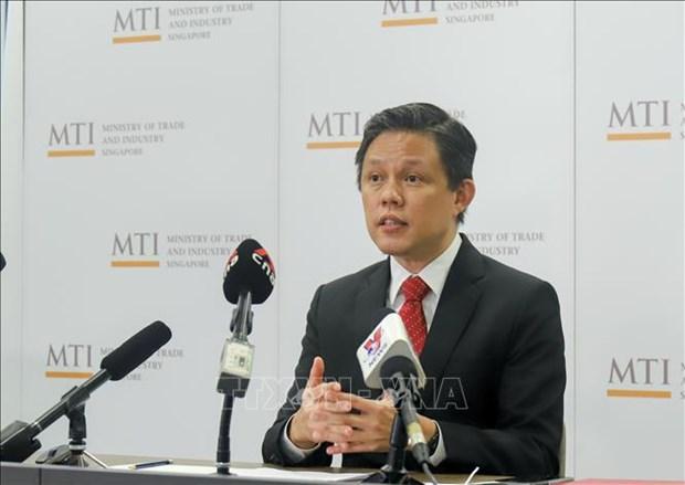 Singapour devient le premier Etat membre de l'ASEAN a ratifier l'Accord ATISA hinh anh 1