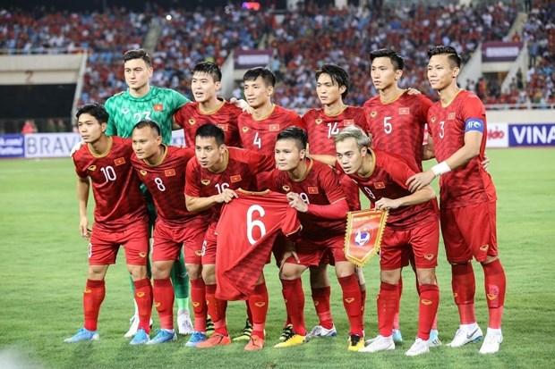 L'equipe nationale de football masculin obtient le meilleur classement de la FIFA depuis 20 ans hinh anh 1