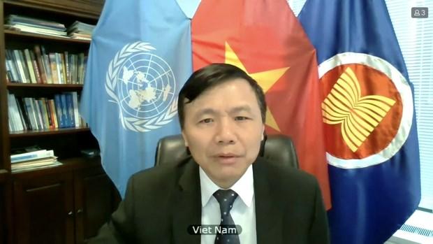 Le Vietnam soutient la promotion des enquetes sur les crimes de l'Etat islamique hinh anh 2