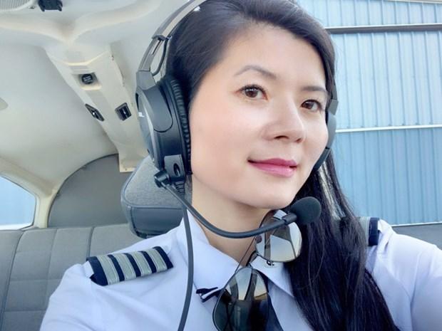 Tour du monde, le reve d'une pilote Viet kieu hinh anh 1