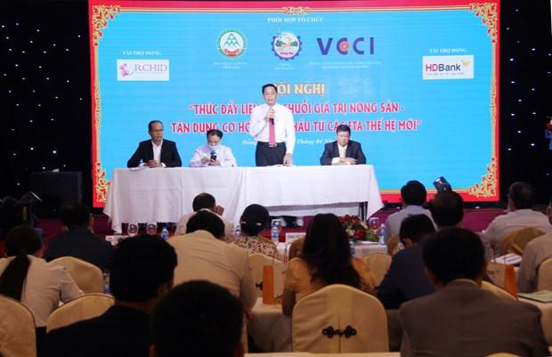 Renforcer les chaines de valeurs pour favoriser les exportations hinh anh 1