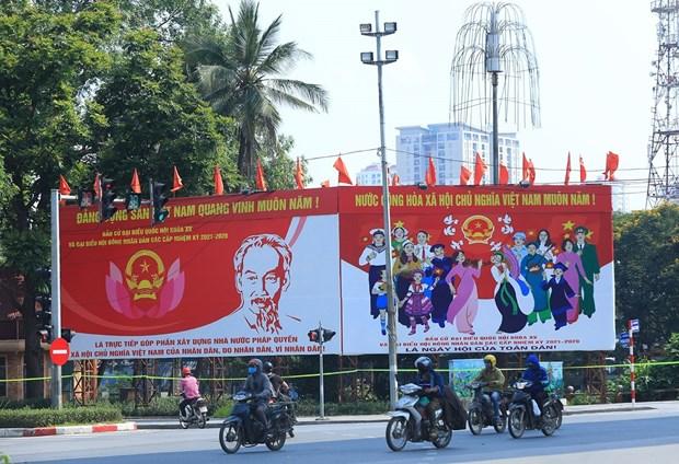 Elections legislatives: occasion pour le peuple vietnamien d'exprimer sa voix hinh anh 2