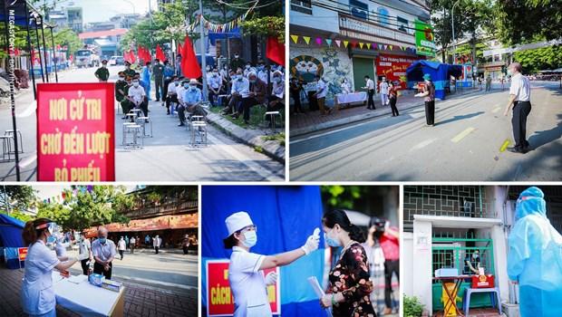 Succes des elections legislatives: force de l'estime du peuple vietnamien hinh anh 4