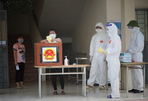 Succes des elections legislatives: force de l'estime du peuple vietnamien hinh anh 1