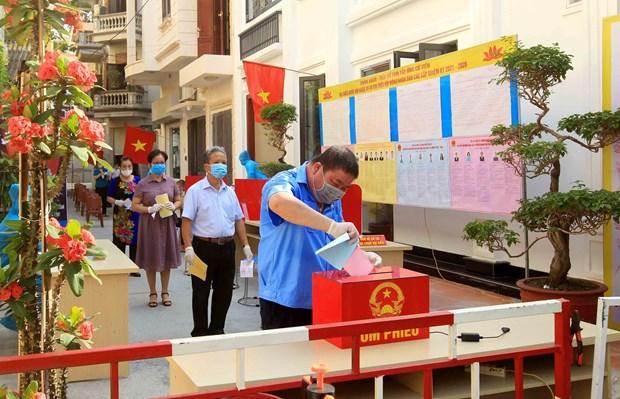 Succes des elections legislatives: force de l'estime du peuple vietnamien hinh anh 3