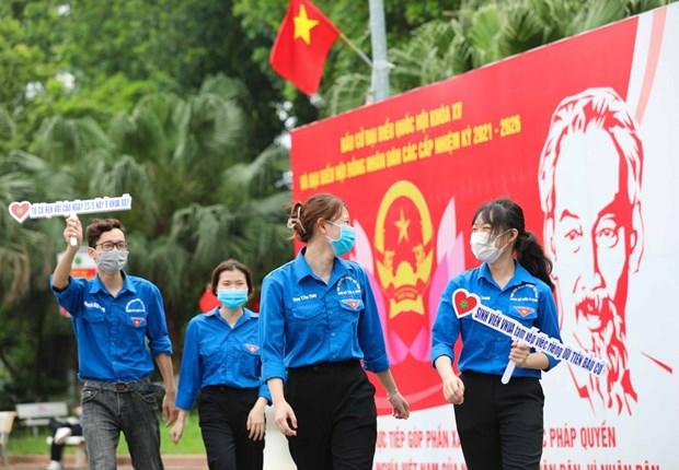 Succes des elections legislatives: force de l'estime du peuple vietnamien hinh anh 2