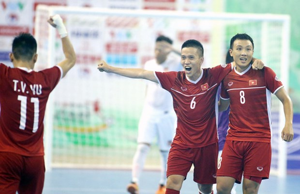 Le Vietnam qualifie pour la phase finale de la Coupe du monde de futsal 2021 hinh anh 1