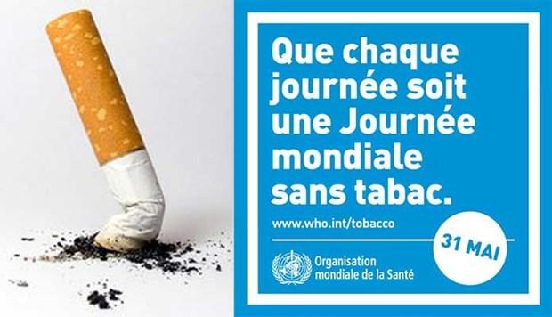 Le Vietnam repond a la Journee mondiale sans tabac 2021 hinh anh 1