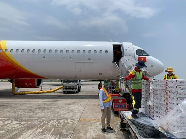 Vietjet s'associe pour promouvoir les exportations et la consommation de litchis hinh anh 1