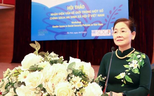 Promouvoir l'egalite des sexes dans le systeme d'assurance sociale et de securite sociale au Vietnam hinh anh 2