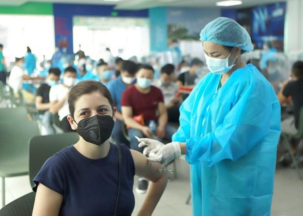 Hanoi prete pour la campagne de vaccination contre le COVID-19 hinh anh 1
