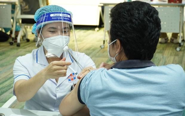 COVID-19 : Ho Chi Minh-Ville deployera la 5e phase de sa campagne de vaccination hinh anh 1
