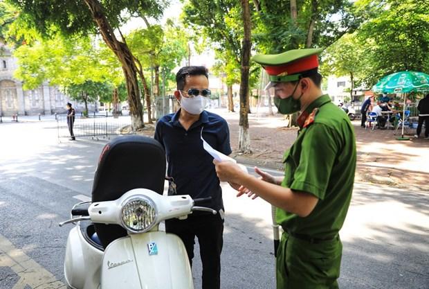 COVID-19: 26 cas supplementaires detectes a Hanoi le matin du 29 juillet hinh anh 1