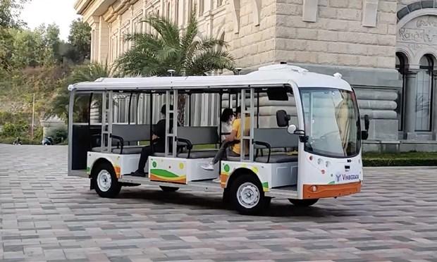 Vingroup: test de vehicules electriques autonomes a Nha Trang hinh anh 1