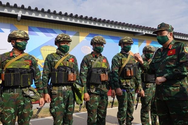 Army Games : un general russe apprecie les competences de tireurs vietnamiens hinh anh 1