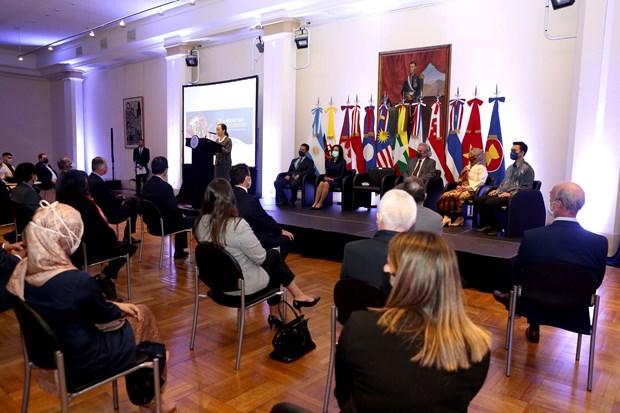 Celebrando 54 años de ASEAN en Argentina Hinh Anh 2