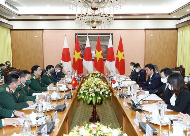 Le ministre japonais de la Defense en visite officielle au Vietnam hinh anh 2