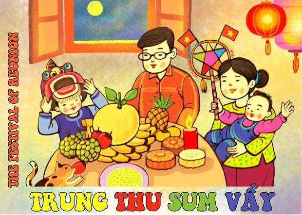 Fete de la Mi-automne: Une exposition en ligne organisee par la Cite imperiale de Thang Long hinh anh 1