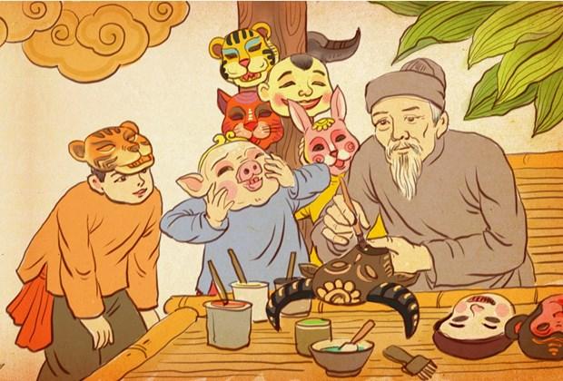 Fete de la Mi-automne: Une exposition en ligne organisee par la Cite imperiale de Thang Long hinh anh 2