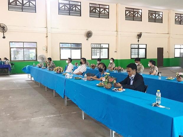 Rentree scolaire 2021-2022 de l'ecole bilingue vietnamo-lao Nguyen Du hinh anh 2