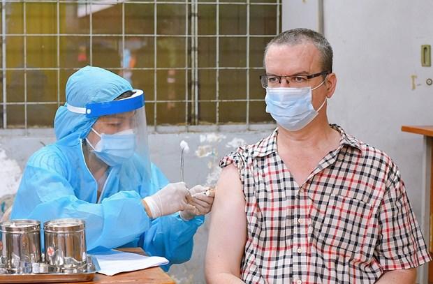 Ho Chi Minh Ville : soutenir les residents etrangers touches par l'epidemie de COVID-19 hinh anh 1