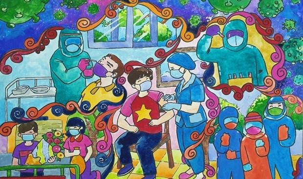 COVID-19: Des enfants vietnamiens en Australie mobilisent des fonds pour soutenir le Vietnam hinh anh 1