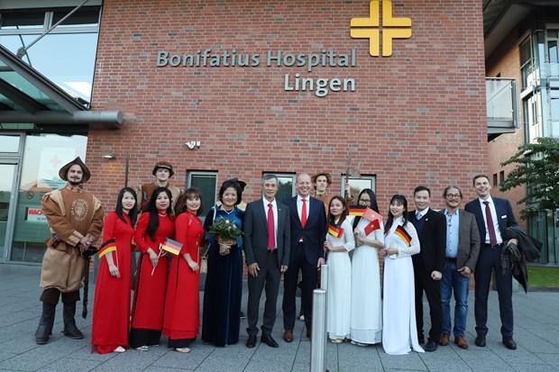 Le Vietnam et l'Allemagne promeuvent leur cooperation dans le domaine des soins infirmiers hinh anh 1