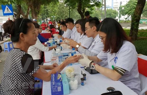 Le Vietnam lance un appel de sensibilisation au depistage du diabete hinh anh 1