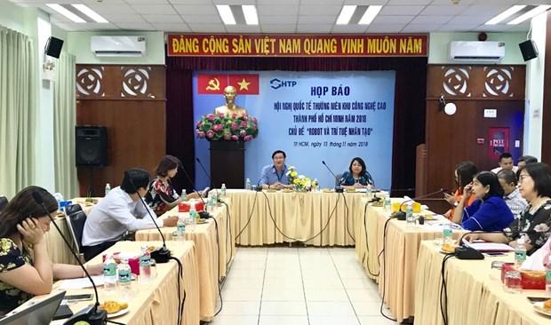 Bientot la 5eme conference internationale annuelle du Parc de haute technologie de Saigon hinh anh 1