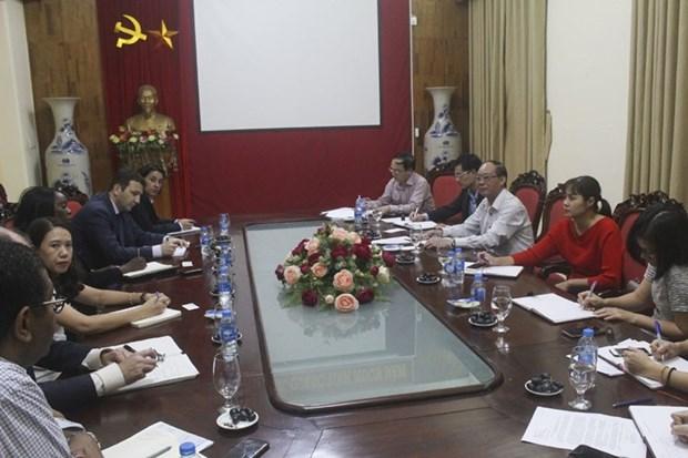 L'Assurance sociale du Vietnam travaille avec des experts de la Banque mondiale hinh anh 1