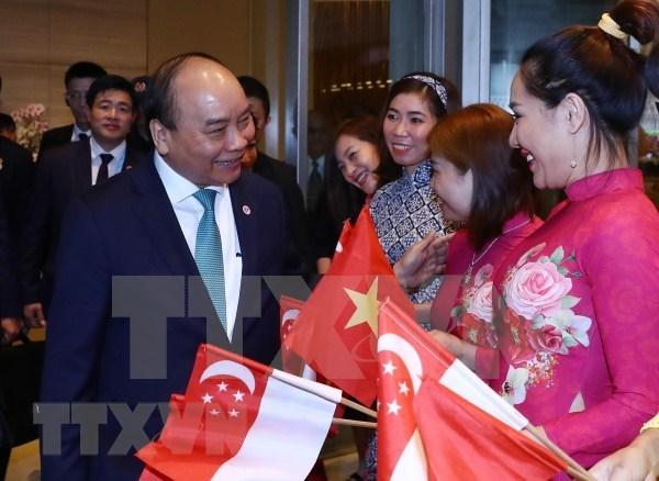Le Premier ministre Nguyen Xuan Phuc termine ses activites au 33e Sommet de l'ASEAN hinh anh 1