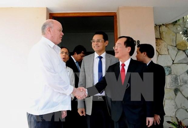 Le Vietnam et Cuba renforcent leur cooperation economique hinh anh 1