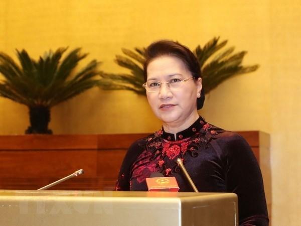 Prochaine visite officielle de la presidente de l'AN Nguyen Thi Kim Ngan en R. de Coree hinh anh 1