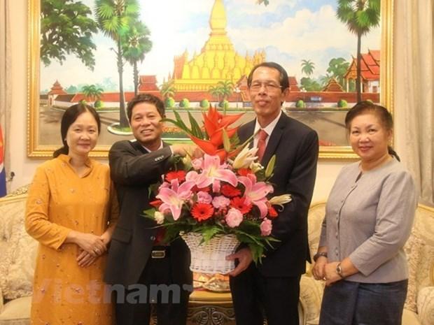 L'ambassade du Vietnam en Malaisie felicite le Laos a l'occasion de la fete nationale hinh anh 1